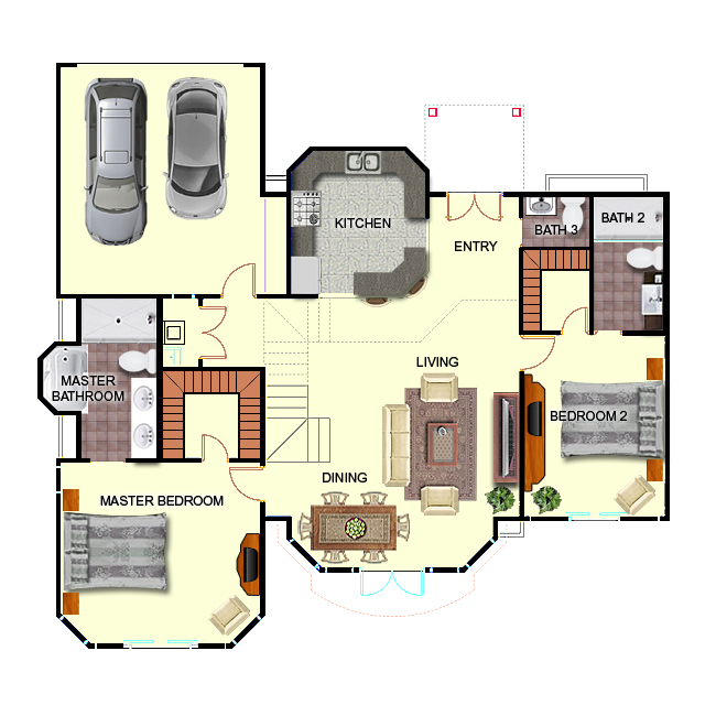 3d salon floor plan related keywords suggestions 3d for 3d salon floor plans